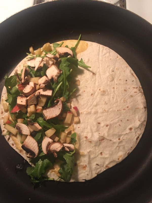 Tuesday Treat: Apple and Arugula Quesadillas