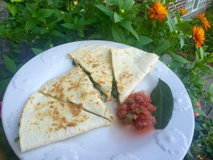 Tuesday Treat: Apple and Arugula Quesadillas