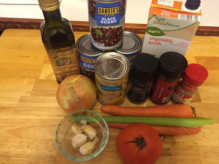 Tuesday Treat: Black Bean Soup (Vegan)