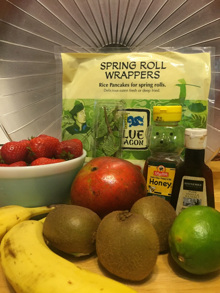 Tuesday Treat: Tropical Spring Rolls