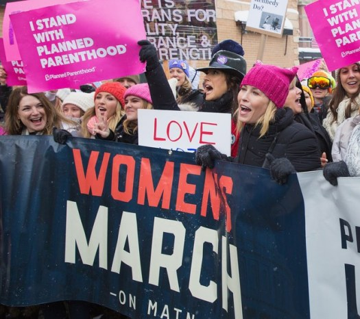 celebrity-womens-march
